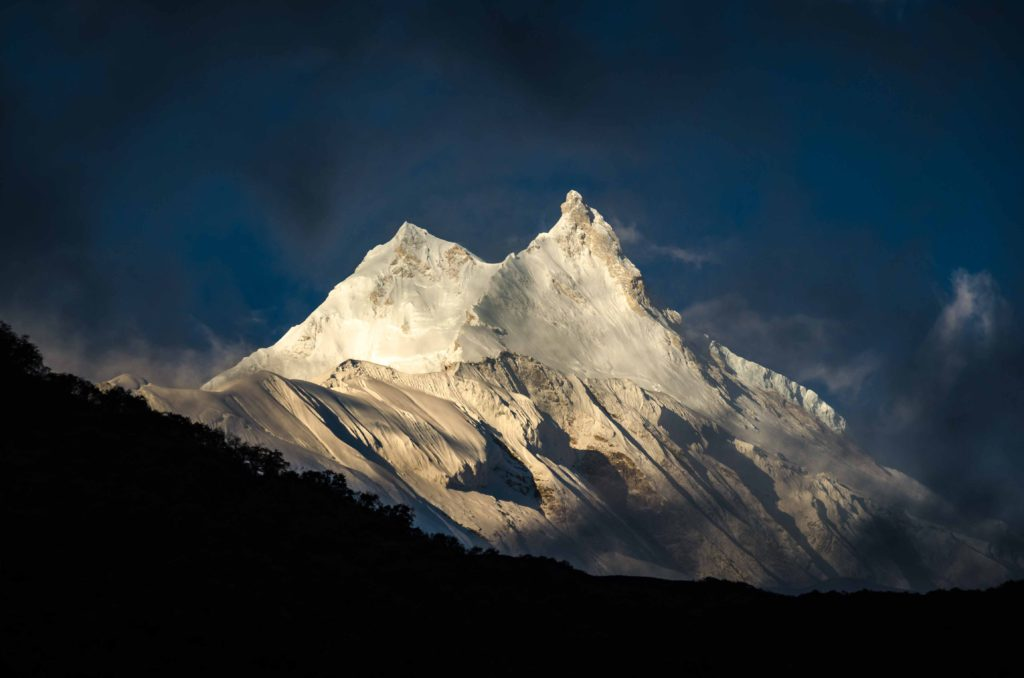 Sometimes the best shots are totally random. Like this one. Just got out of bed, got in front of the lodge, pressed the shutter and went for breakfast. It started a great day to the base camp. Manaslu, Nepal.