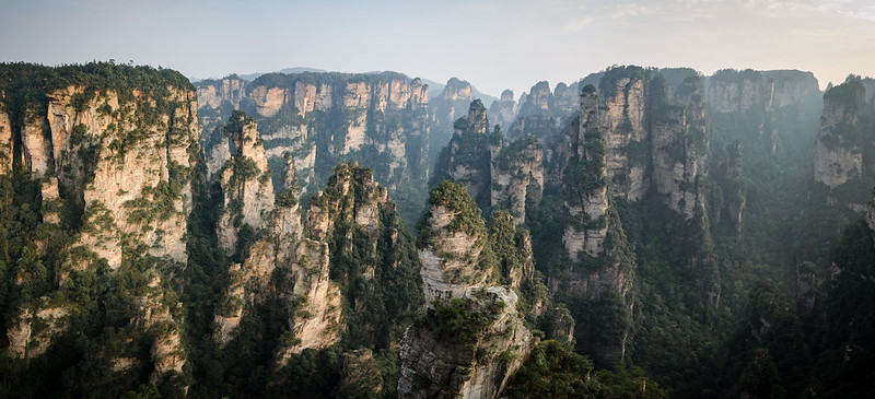 Zhangjiajie aka Avatar mountains is a real jewel in the natural wonderland of China.